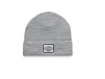 Mütze Traditional Logo Grey