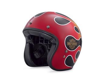 Helm Retro Flame