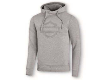 Sweater/Hoodie Embossed Logo grey