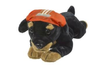 Stoffhund Rottweiler