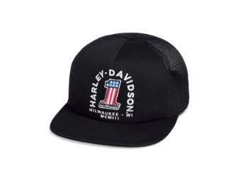 Cap Woven Black #1