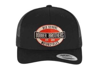 Bobber Trucker Cap Vintage Logo