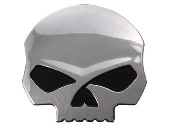 Aufkleber 3D Skull