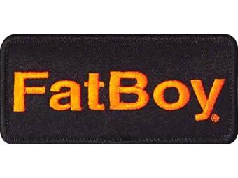 Aufnäher Fat Boy