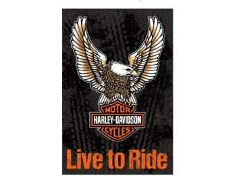 Gartenflagge H-D Eagle