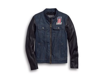Funktionsjacke Arterial - Denim Leather