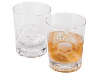 Gläser-Set H-D Skull