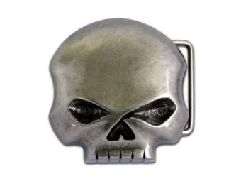 Gürtelschnalle Willie G Skull