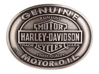 """Gürtelschnalle """"Motor Oil"""""""