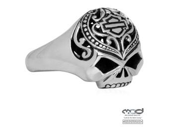 Fingerring Filigree Skull