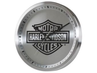 Wanduhr Metal Bar & Shield