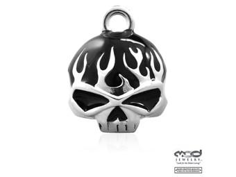 Glocke Black Flame Skull