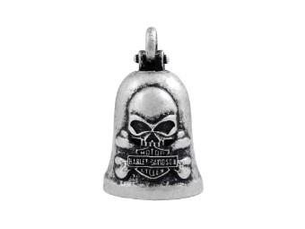 Glocke Vintage Skull