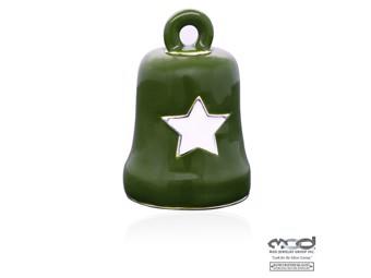 Glocke Green & White Star