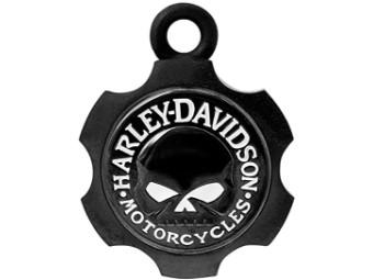 GLOCKE BLACK AXEL SKULL mit Geschenkbeutel & Story Card