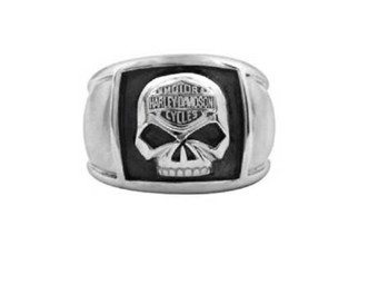 Ring Skull Cigar Band