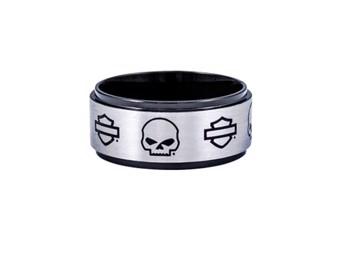 Ring Skull & B&S