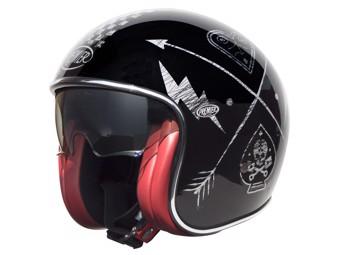 Helm Vintage NX Silver Chromed