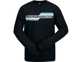 Langarm-Shirt Retro Lines