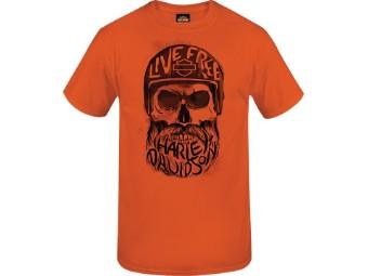 T-Shirt Inscribed Skull