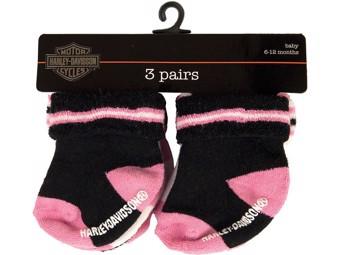 Baby Socken 3er Set - Girl