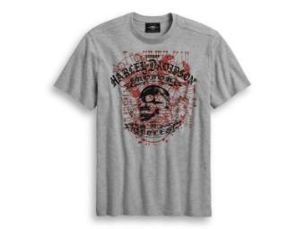 T-Shirt Schematic Skull