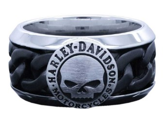 Fingerring Willie G Skull