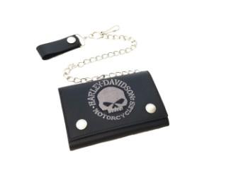 Geldbörse HD Skull Embroidery