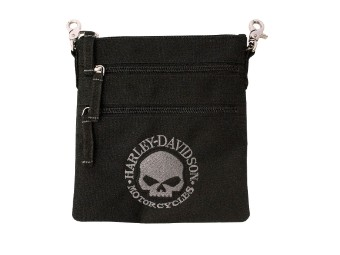 Tasche Clip Bag Willie G Skull
