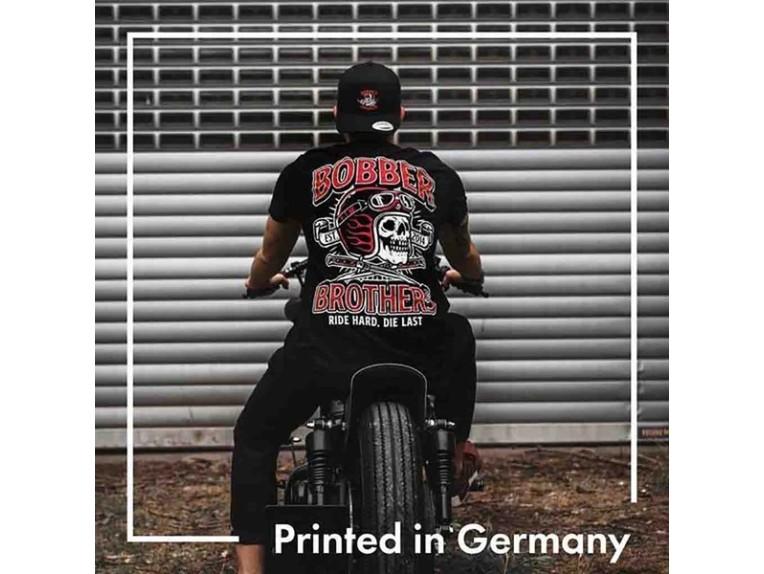 T-Shirt Ride Hard, Die Last Back