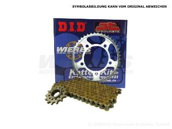 Kettenkit 200 DUKE Stahl-Ritzel TOP X-Ringkette