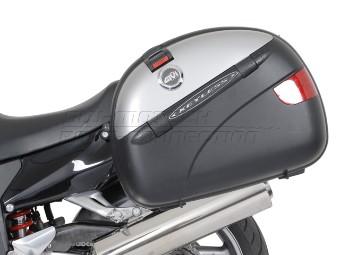 QUICK-LOCK EVO Kofferträger Schwarz . Honda CBR 1100 XX Black