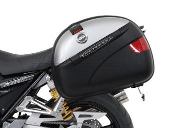 QUICK-LOCK EVO Kofferträger Schwarz . Yamaha XJR 1300 (98-).
