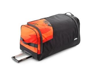 Orange Gear Bag / Ausrüstungstasche / Rollkoffer