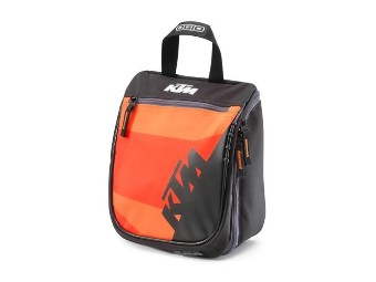 Orange Toilet Bag / Kulturbeutel / Doppler Bag