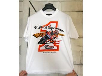 T-Shirt Stoner World Champ, Weltmeister, Moto GP