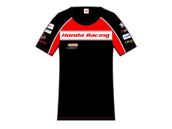 Honda Racing British Super Bikes BSB Damen T-Shirts offizielle 2016