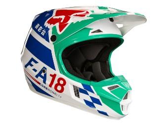 V1 Sayak Kinder MX Helm