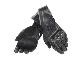 Carbon D1 Lang Motorrad Handschuhe