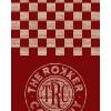 8148Tube Checker Board Red