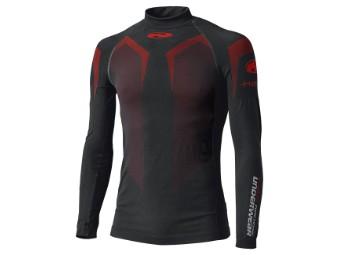 3D-Skin Warm Top Langarm Funktions-Unterhemd