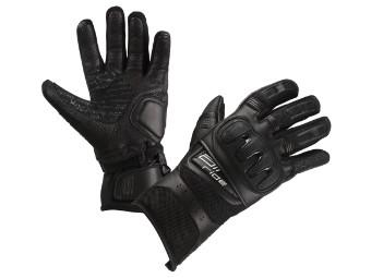 Air Ride Schwarz Motorrad Handschuhe