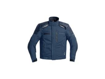 Firenze 2 Marineblau Motorrad Jacke