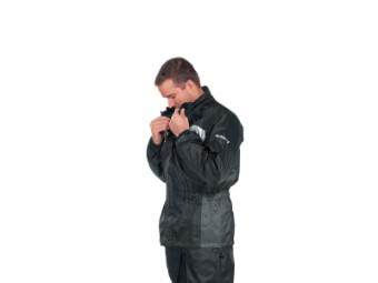 Regenjacke Difi Seismo - Schwarz Grau