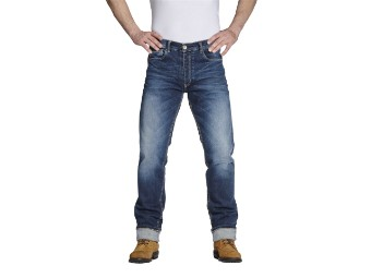 Iron Selvage Motorrad Jeans