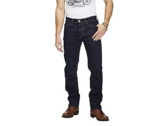 Rokkєrtech Raw Straight Motorrad Jeans