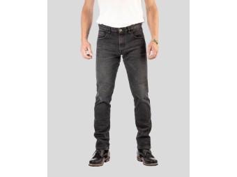 Rokkєrtech Black Tapered Slim Motorrad Jeans