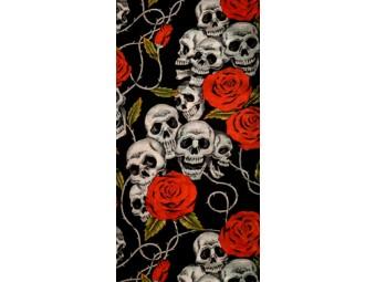 Skulls & Roses Tube Halstuch