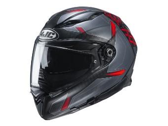 F70 Dever Integral Motorradhelm mit Sonnenblende
