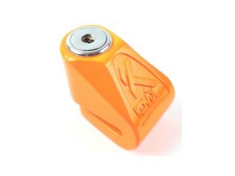KN1 fluo orange 6mm Pin Bremsscheibenschloss